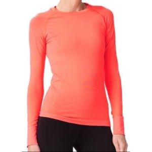 Sweaty Betty Q-Skin Seamless Long Sleeve Crew Top